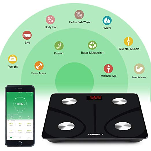 Renpho Bluetooth Body Fat Scale - RichardHWebb.com