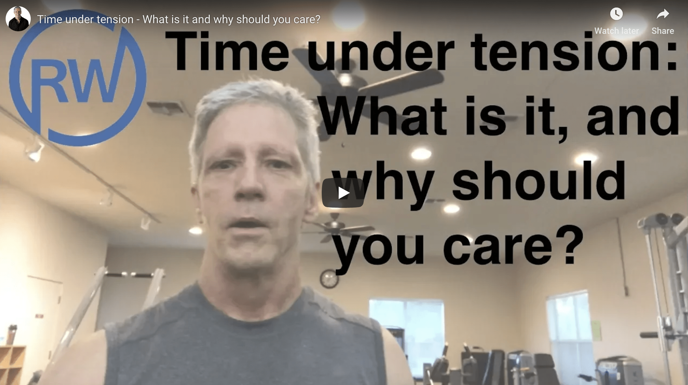Time Under Tension – What is it and why you should care?