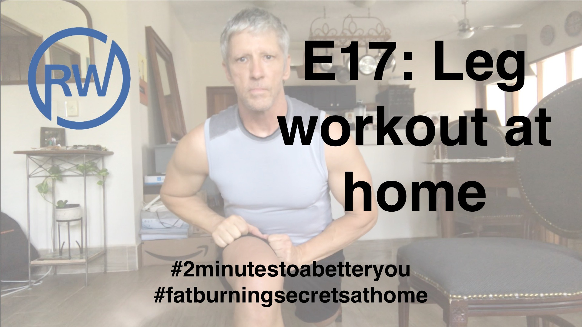 Leg Workout at Home for my book – Fat Burning Secrets