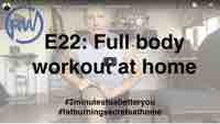 Full body workout no gym